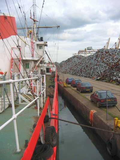 deck quay stern bow